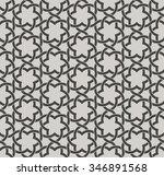 decorative seamless islamic... | Shutterstock .eps vector #346891568