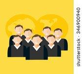 business team.    Shutterstock .eps vector #346900940