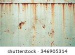 rusty metal texture background.  | Shutterstock . vector #346905314
