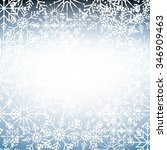 welcome winter design  vector... | Shutterstock .eps vector #346909463