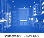 abstract sketch design of... | Shutterstock . vector #346911878