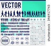 vector business people... | Shutterstock .eps vector #346917743