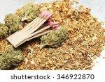 marijuana and cannabis | Shutterstock . vector #346922870