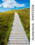 narrow track upon a hill | Shutterstock . vector #346923206