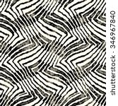 abstract distressed striped... | Shutterstock . vector #346967840
