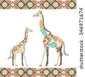 Creative Giraffe Pattern Made...