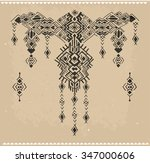 tribal ethnic collection  the... | Shutterstock .eps vector #347000606
