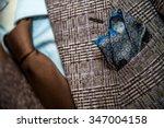 bespoke suit  tailoring...   Shutterstock . vector #347004158