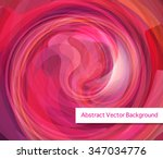 abstract vector pink background ... | Shutterstock .eps vector #347034776