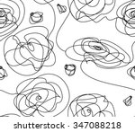 vector seamless background .... | Shutterstock .eps vector #347088218