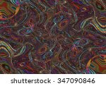 colorful psychedelic background ... | Shutterstock . vector #347090846