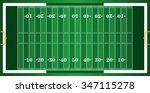 a grass textured american... | Shutterstock .eps vector #347115278