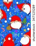 new year  christmas  santa claus | Shutterstock . vector #347125289