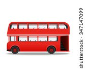 london red bus vector... | Shutterstock .eps vector #347147099