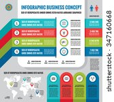 business infographic concept... | Shutterstock .eps vector #347160668