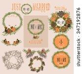 wedding invitation vector | Shutterstock .eps vector #347192876