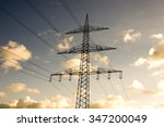 power pole | Shutterstock . vector #347200049