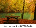fall in the name of peace. | Shutterstock . vector #347207444
