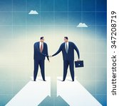 cooperation. concept business... | Shutterstock . vector #347208719