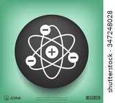 pictograph of atom | Shutterstock .eps vector #347248028