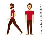 avatar person design  vector... | Shutterstock .eps vector #347250818