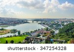 Panoramic View Of Golden Horn...