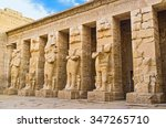 the ruins of the ramessid... | Shutterstock . vector #347265710