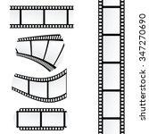 film tape roll vector... | Shutterstock .eps vector #347270690