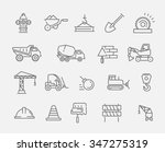 construction and industrial... | Shutterstock .eps vector #347275319