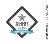 abstract summer label on a...   Shutterstock .eps vector #347288900