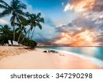 exotic long exposure seascape... | Shutterstock . vector #347290298