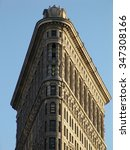 Flatiron Building Lit By The...