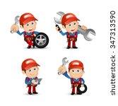 people set   profession  ... | Shutterstock .eps vector #347313590