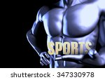 sports with a business man... | Shutterstock . vector #347330978