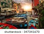 Beautiful Colorful Cityscape O...