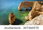 long exposure at the beach...   Shutterstock . vector #347360570