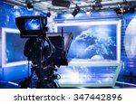 video camera   recording show... | Shutterstock . vector #347442896