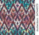 seamless faux textile reworked... | Shutterstock .eps vector #347449979