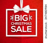 Big Christmas Sale White Vecto...