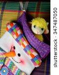 christmas sock | Shutterstock . vector #347487050