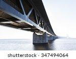 oresund bridge oresunds bron ... | Shutterstock . vector #347494064