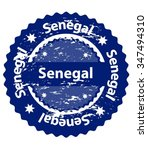 senegal country grunge stamp | Shutterstock .eps vector #347494310