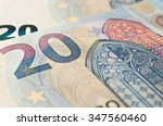 Closeup Of New Banknote Of...