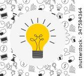 big idea design  vector... | Shutterstock .eps vector #347584364