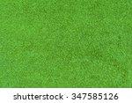 top view of artificial grass   Shutterstock . vector #347585126