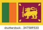 flag of sri lanka | Shutterstock .eps vector #347589533