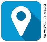 map marker longshadow icon....