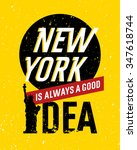 motivational quote design.... | Shutterstock .eps vector #347618744