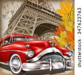 Paris Vintage Poster.