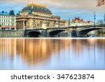 Prague National Theatre. Czech...